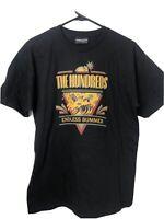 Mens T-Shirt Black The Hundreds Size M