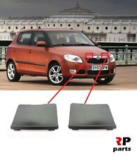 FOR SKODA FABIA 07-10, ROOMSTER 06-10 NEW FRONT BUMPER CENTER GRILL COVER PAIR