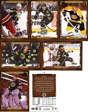 2015-16 UD Upper Deck Portfolio Boston Bruins Master Team Set RC's Wire (11)