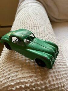 Vtg Large Scale TOOTSIE TOY Toy Car Jaguar XK 140 Chicago 24 USA 1950s-60s Era