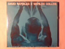 DAVID MORALES 2 worlds collide cd COME NUOVO LIKE NEW!!!