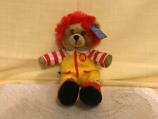 """Collectible 7"""" McDonald's Build A Bear Workshop Ronald McDonald Beanbag Plush"""