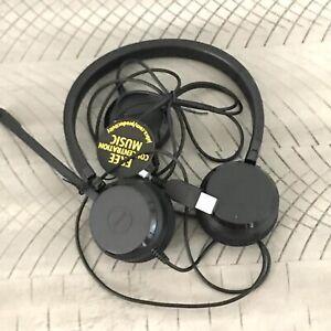 Jabra GN HSC016 Evolve 20 Stereo UC Corded USB Headset Mic 150-7000Hz 2 Ear NEW