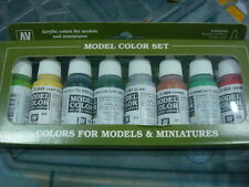 Vallejo Model Color Set 17ml nuevo new