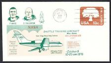 GULFSTREAM STA SPACE SHUTTLE TRAINING AIRCRAFT FLIGHT 10-8-1976 Space Cover