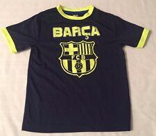 FC Barcelona Youth Boys Tee Shirt - Youth Small (S/P) Soccer La Liga Futbol