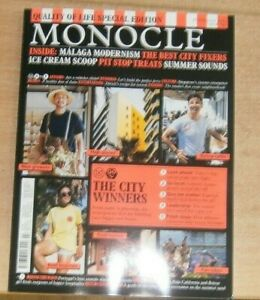 Monocle magazine #145 Jul 2021 Malaga Modernism Ice Cream Scoop Pit Stop Treats