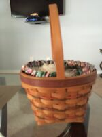 longaberger large easter basket