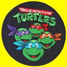 Teenage Mutant Ninja Turtles Cartoon Embroidered Iron on Patch #A
