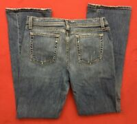 J.Crew Boot Cut Stretch Blue Jeans Women Size 6  Made in USA