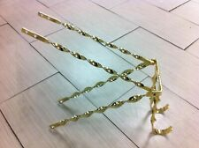 """Gold Twisted Spare Tire Kit  for 20"""" Lowrider Cruiser Bike Bicycle"""