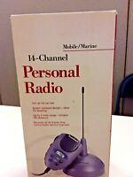 Radio Shack 21-1850 Mobile / Marine 14 Channel Personal CB Radio NEW-OPEN BOX