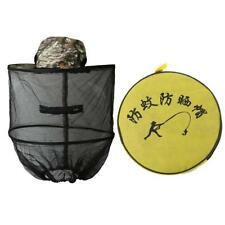 Insect Bug Bee Mosquito Repellent Sun Hat Net Cap Head Face Mesh Protector