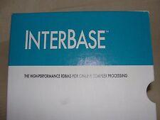 Borland Interbase RDBMS Software Manuals.  Version 3.0 1993