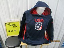 Nike United States Lacrosse Team Logo Large Sweatshirt Hoodie New W/ Tags Therma