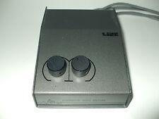 Sistemas de audio alternativa pasivo Pre Amplificador Mono Doble