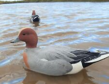 Duck Decoys Set of 6 GHG Pro Grade Head Up Cock Wigeon decoys Wildfowling