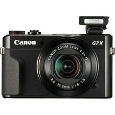 Canon PowerShot G7 X Mark II 20 MP Digital Camera - Black