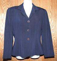 NEW Giorgio Armani Le Collezioni Womens Blazer Jacket Wool Blend   sz 2
