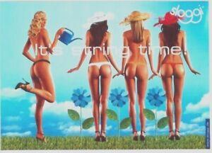Original vintage poster SLOGGI SEXY SWISS LINGERIE (GIANT SIZE)
