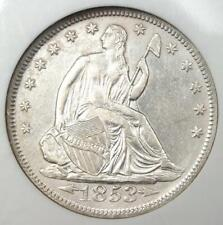 1853 Seated Liberty Half Dollar 50C - NGC Certified - SS Republic Shipwreck!