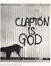 ERIC CLAPTON IS GOD CREAM THE YARDBIRDS GRAFFITI DOG PHOTO POSTER PRINT REPRINT