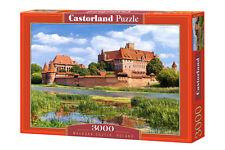 CASTORLAND c-300211 Puzzle Malbork Castle, Polonia Marien Castello Burg 3000 pezzi
