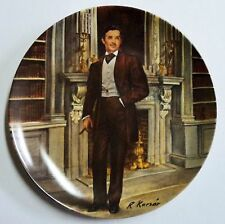 """""""Rhett"""" Gone With The Wind Collection - Collector Plate - Raymond Kursar Knowles"""