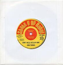 IRMA THOMAS-DON'T MESS WITH MY MAN / DONNIE ELBERT-WILD CHILD UK OUTTASIGHT /R&B
