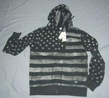 NEW Denim & Supply Ralph Lauren Men's  Flag French Terry Zip Hoodie Sz XXL $125