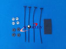 one set Universal JDM Electric Cooling Radiator Fan Mount Mounting kit Strap Tie