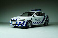 Mitsubishi Lancer X (2009) Portugal police Vitesse Scale 1:43 Diecast model car