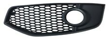 audi a3 2003 to 2008 front bumper grille with hole nearside l/h s3 only