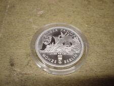 1 ONCIA ARGENTO 2016, PANDA, ufficialmente moneta da Berlino, 31,1g/999 argento finemente