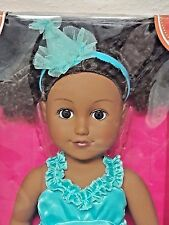 """My Life as a Party Planner 18"""" African American Doll"""
