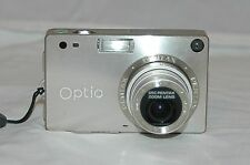 Pentax Optio S4 4.0 MP Digital Camera - Silver