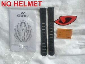 GIRO MANUAL RUBBER INSERTS & STICKER FOR BICYCLE HELMET (NO HELMET INCLUDED)