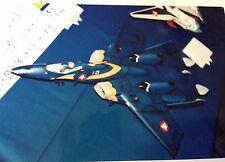 Macross Plus YF-21 Valkyrie Fighter Resin RECAST kit of Club M kit 1/72 Robotech