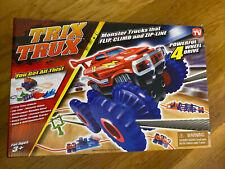 Trix Trux Monster Trucks That Flip Climb And Zip Line Powerful 4 Wheel Drive New
