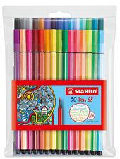 Stabilo Pen 68 Premium 1mm Fiber-tip 30 Color Pen Set, # 6830-1