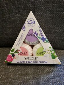 Luxury Soap Selection Yardley  Collection Contains 2x50g soaps.