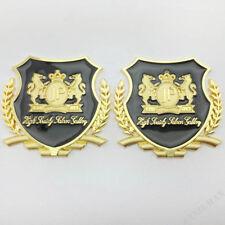 2pcs JP Junction Produce Metal VIP Emblems Car Trunk Window Decal Sticker Badge