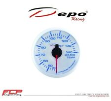 DEPO RACING BLAU / WEISS DIGITAL WASSERTEMPERATUR ANZEIGE / WATER TEMP. GAUGE