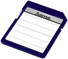 hama Etiquettes pour cartes mémoire, pour cartes SD / MMC, 18 étiquettes