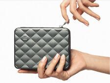 Ogon Designs QUILTED PASSPORT Wallet PLATINUM NEW