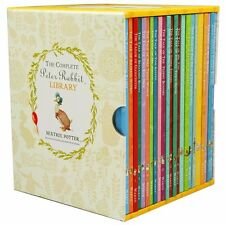 The Complete Peter Rabbit Library by Beatrix Potter 23 Hardcover Books Box Set