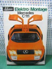 Estremely RARE SCHUCO 5508 -  MERCEDES C111  Elektro montage  - Nouveau / Menthe