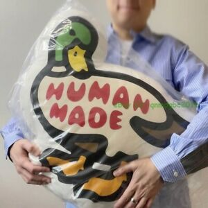 "21ss Human Made Funny Duck Pillows Cushion Fashion Decoration 20"""