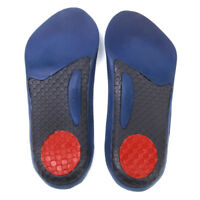 Women's 3/4 Arch Support Insoles Cushion Heel Plantar Fasciitis Pain Relief