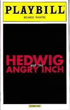 HEDWIG AND THE ANGRY INCH PLAYBILL NEW YORK CITY BROADWAY AUGUST 2015 TAYE DIGGS